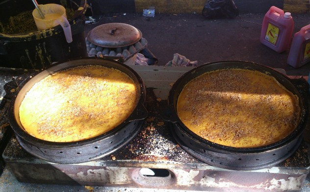 cooking local hotcakes