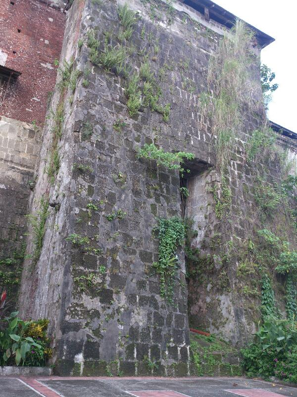 Majayjay Church Wall